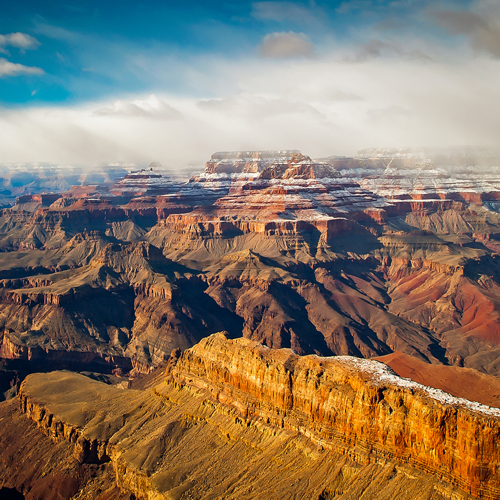 Stormy Grand Canyon-blog