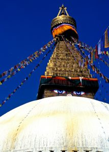 Photo of Buddha Eyes, Kathmandu, Nepal
