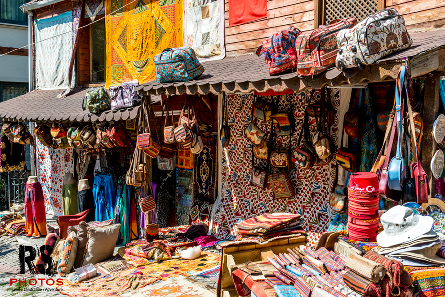 Local bag and fabric shop